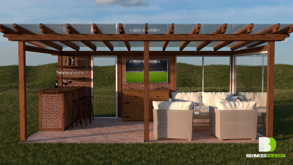 Behnkes3Design | Portfolio | Rustikale Terrasse